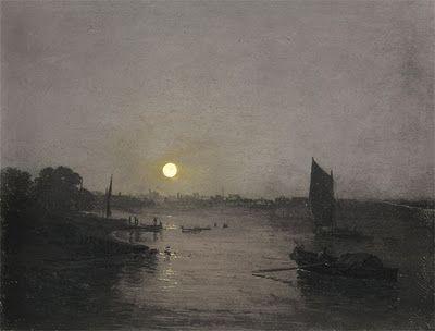 William Turner, night scene