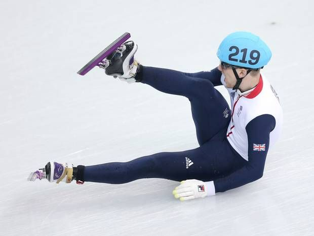 Winter Olympics 2014: Team GB medal hope Jack Whelbourne crashes out of 1500m speed skating final - Olympics - Sport - The Independent