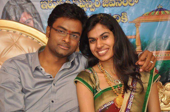 Hemachandra & Sravana Bhargavi @ their Engagement