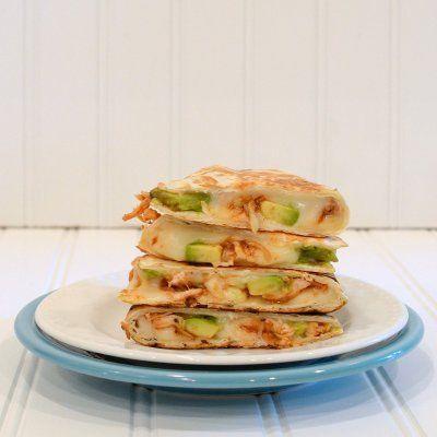 BBQ chicken avacado quesadillas: Fun Recipes, Avocado Quesadia, Bbq Chicken, Avacado Quesadilla, Savory Recipes, Healthy, Delicious, Avocado Quesadillas, Nom Nom
