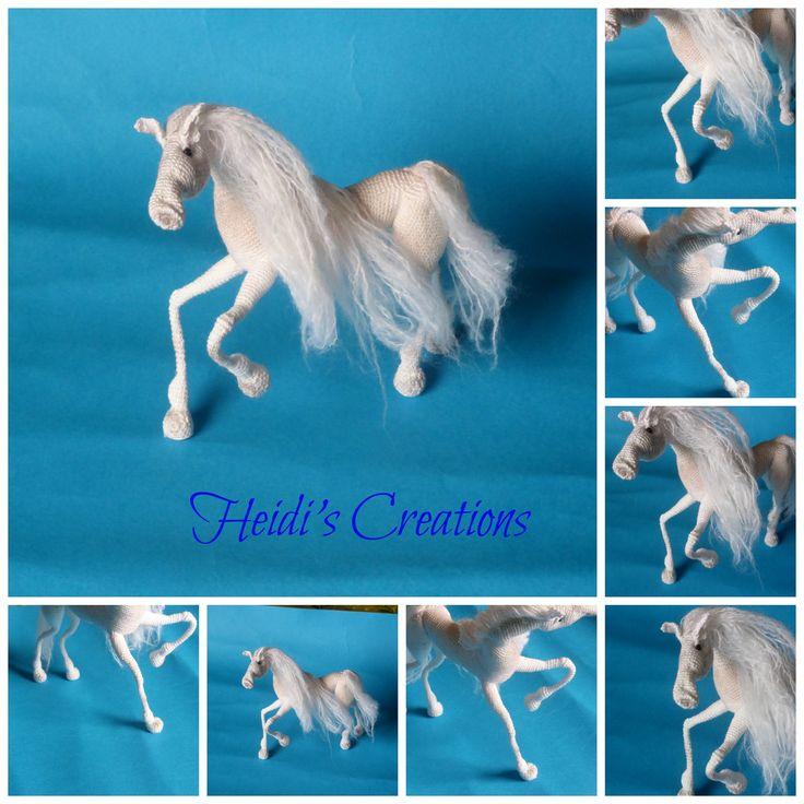 Амигуруми, лошадь,amigurumi uncinetto cavallo,