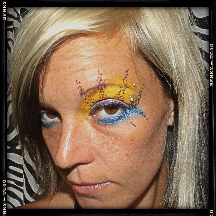 Make up art not nail art:)