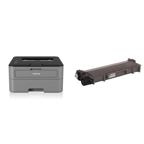 From 64.99 Brother Hl-l2300d Mono Laser Printer With Tn2320 High Yield Toner Cartridge Bundle
