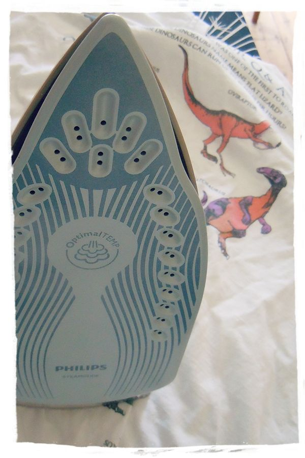 """""""If anyone wants to take this iron off me ever they will have to prise it from my cold, dead hands.""""  We love this review from pro-ironer and blogger Mammasaurus!"""
