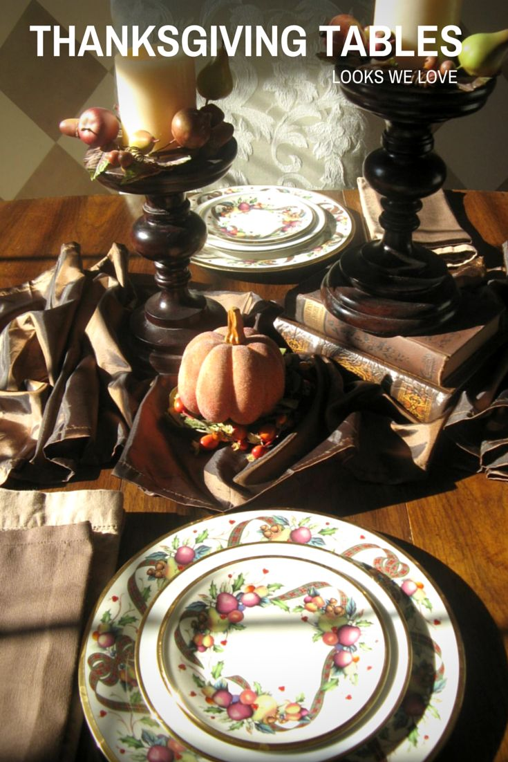 Do You Go Fancy Or Fuss Free With Your Thanksgiving Table Setting? We Have
