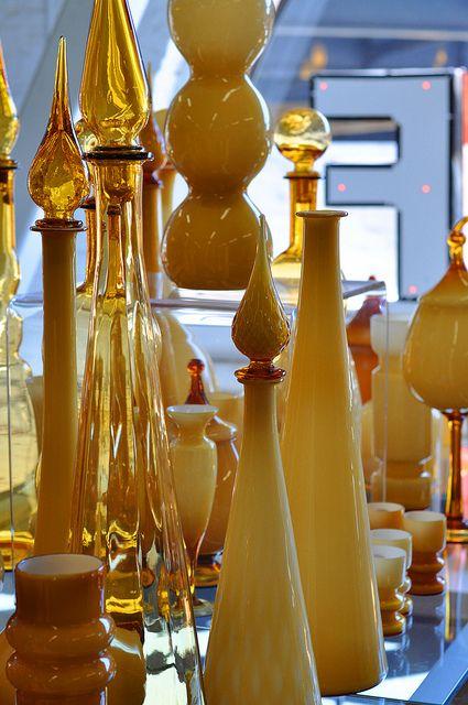 Stuff SF Antiques Vintage Mid Century Glass Display