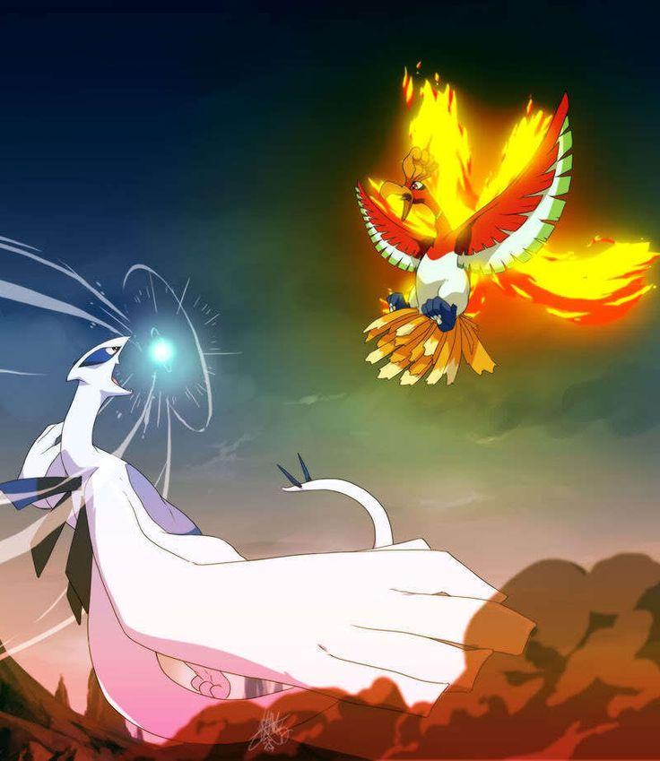 Lugia-Ho-Oh-legendary-pokemon | pokemon | Pokemon, Lugia ...