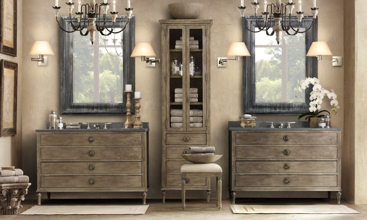 Bistro Globe Bath Sconce 4 Light: 25+ Best Ideas About Restoration Hardware Bathroom On