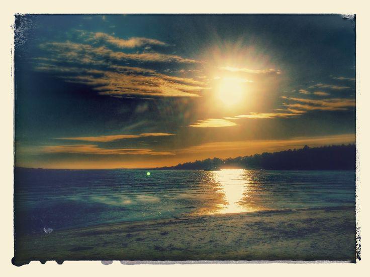 Afternoon sun at Hvaler national park