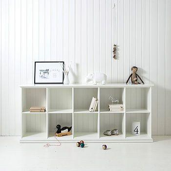 Scandinavian Children's Cabinet | 10 compartments