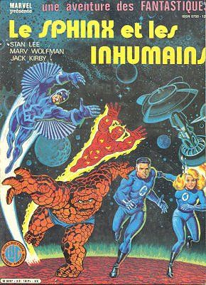 Fantastiques (Une aventure des) -32- Le Sphinx et les Inhumains