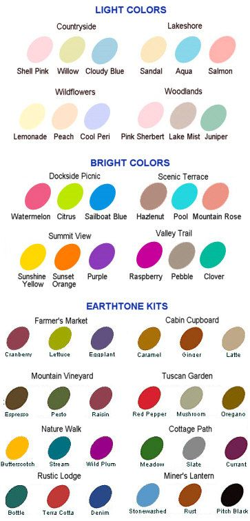 ranger alcohol ink color chart - This is SO helpful when ordering!