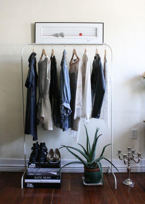 1000 Images About Minimalist Closet On Pinterest