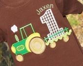 Boys Birthday Tractor