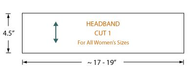 For you scraps!! Headband and other accessories patterns and ideas.  Super easy ideas.  Great diagrams.
