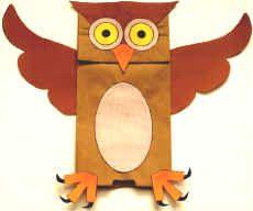 paper-bag-owl-puppet-craft                                                                                                                                                                                 More