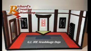 As I progress with my latest G.I. Joe diorama, lets look back at my first G.I. Joe build I did. #richardscreativeworkshop #actionfigures #gijoe #dioramas #snake-eye #stormshadow