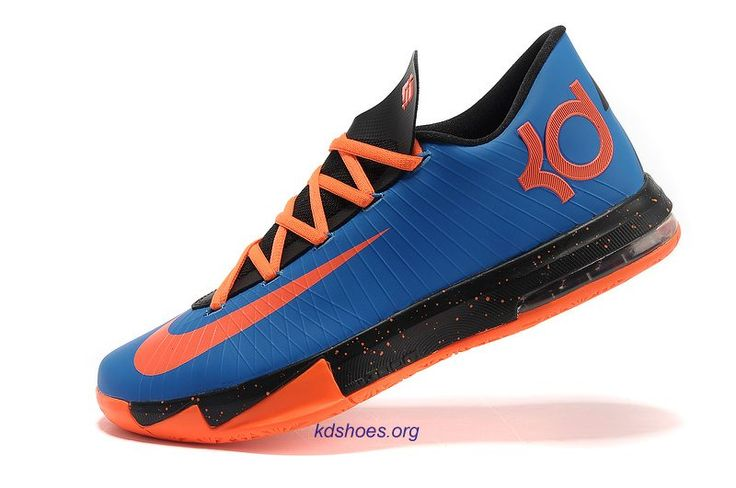 kd low top basketball shoes | kd 6 low top Kevin Durant Blue Total ...