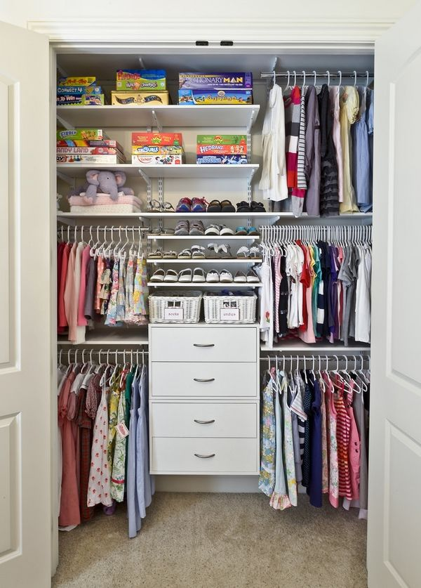 Organize Your Closet Ideas Part - 23: 20 Ways To Organize Your Closet For Summer | Home Design, Interior  Decorating, Bedroom