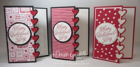 Hi Stampers, Today we will be making this fun Valentines Day card using the Love Notes Framelits   plus we will be using the Sealed with Love stamp set # 142815  bundle and save 10% #144705 (when you
