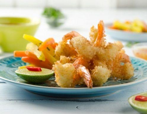camarão de coco com vegetais de raiz Sour - Receita - ichkoche.at