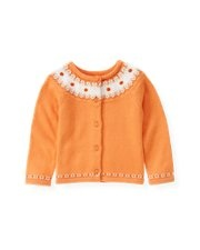 Such a cute pumpkin sweater at Janie and Jack in T.O I could have bought the entire store!