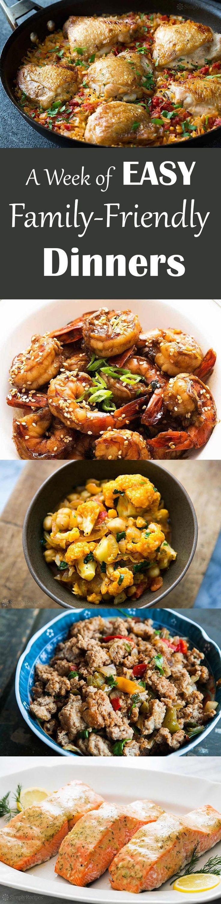 EASY Family-Friendly Dinner Recipes! No fuss, 30 min, healthy meals your whole family will love. With cool Shopping List feature sponsored by grocery delivery service Shipt!