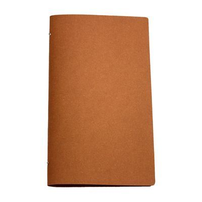 Tuscan Leather A4 Narrow Natural  A natural coloured leather restaurant menu cover in a popular narrow format.
