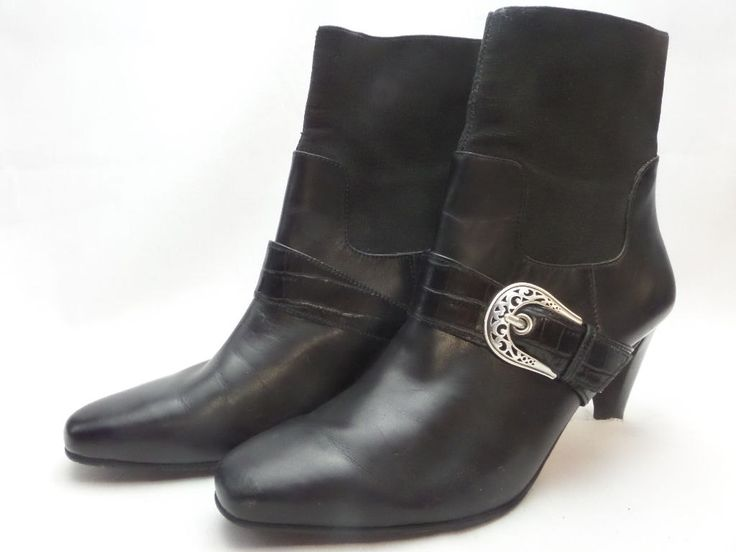Brazilian Leather Boots are Wicked by ShopPortlandVintage on Etsy
