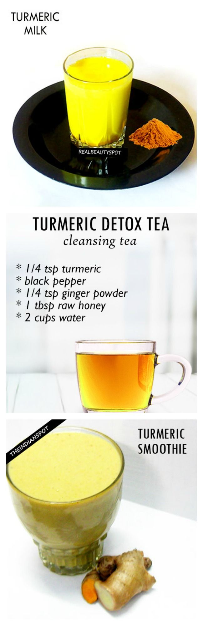 TOP TURMERIC DRINK RECIPES FOR HEALTH AND BEAUTY