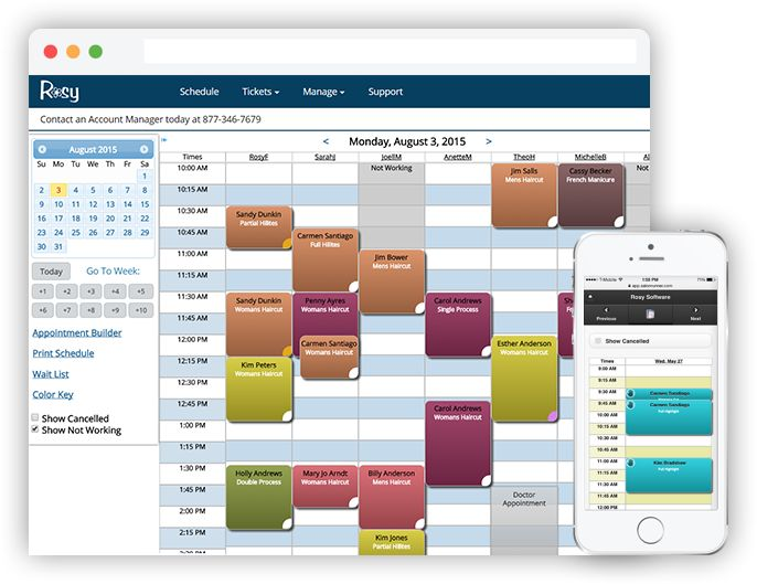 Salon Software by ROSY | Salon and Spa Management In the Cloud