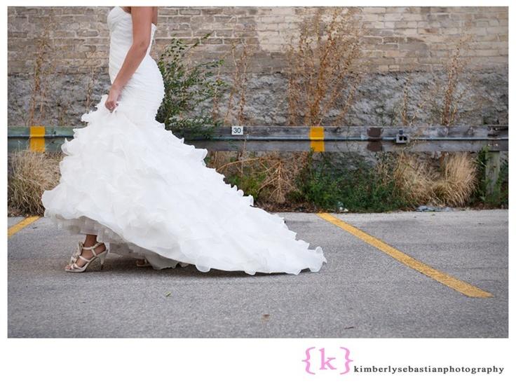 Candace's gorgeous wedding dress