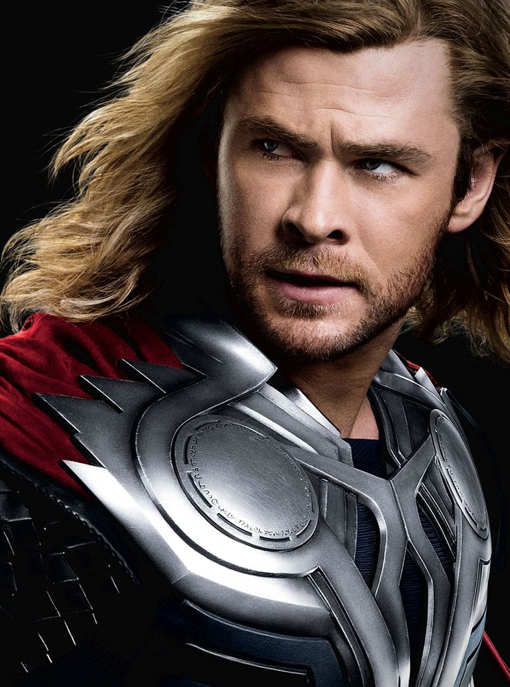 Chris Hemsworth as Thor  The Avengers (2012)