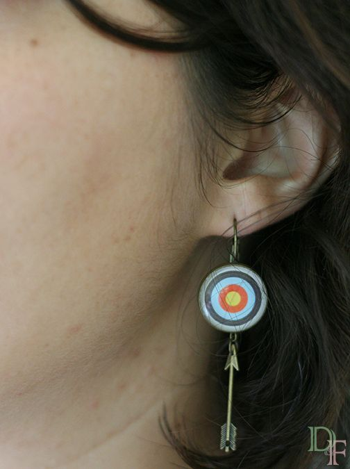 Boucles d'oreilles tir à l'arc http://divine-et-feminine.com/fr/boucles-d-oreilles/113-boucles-oreilles-tir-arc.html Archery earrings http://divine-et-feminine.com/en/earrings/113-archery-earrings.html