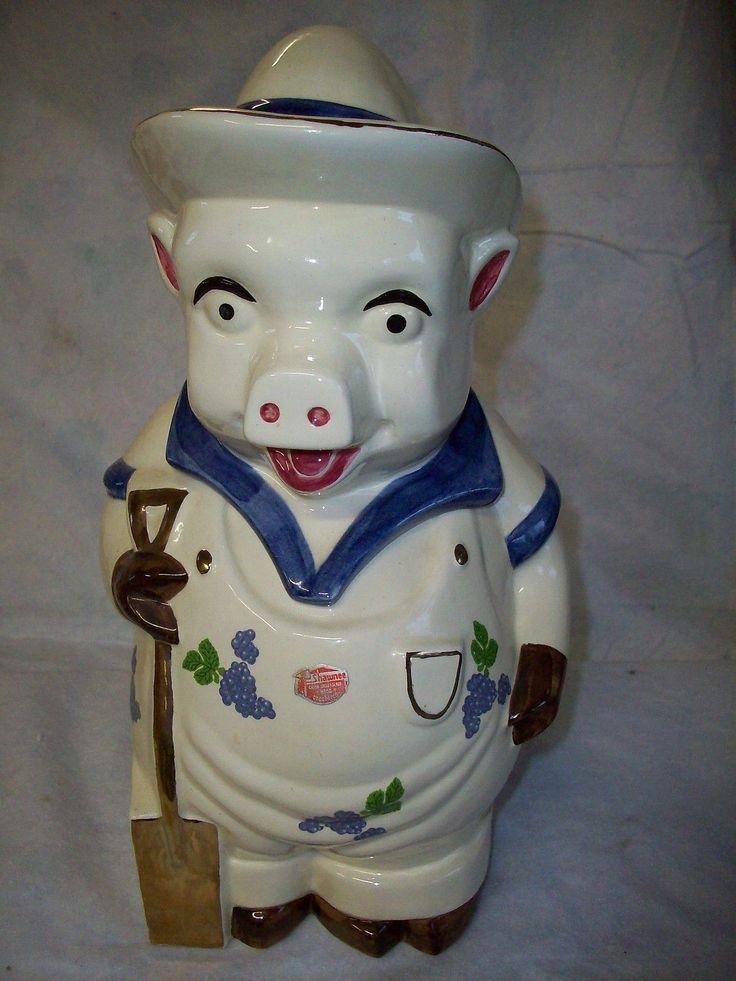 17 Best Images About Piggy Cookie Jars On Pinterest