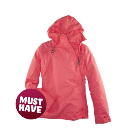 Sublevel - Windbreaker Jacke coral pink for Women - Jetzt bei FASHION5 - Dein Online Store für Young Fashion - www.FASHION5.de