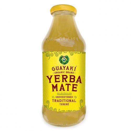 Unsweetened Guayaki Yerba Mate. Heard about it from Isaac Mizrahi.. Sold at Whole Foods, Fairway and Stop & Shop. http://www.ediblemanhattan.com/magazine/isaac_mizrahi/