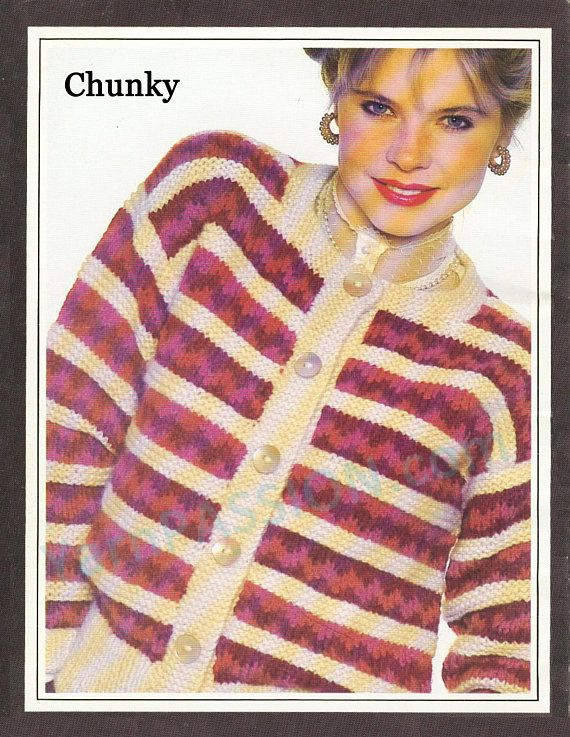 CHUNKY Nordic Chic Sizes: 10 16 30 36 ins 76 knitting pattern at https://www.etsy.com/listing/587329274/chunky-nordic-chic-sizes-10-16-30-36-ins