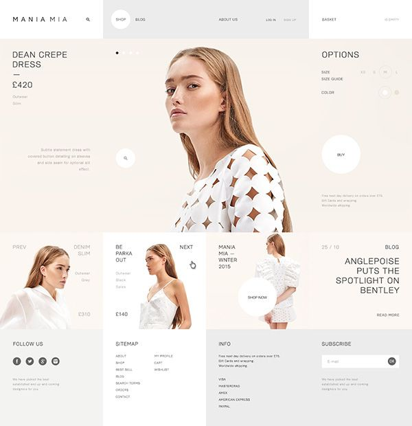 Mania Mia on Web Design Served