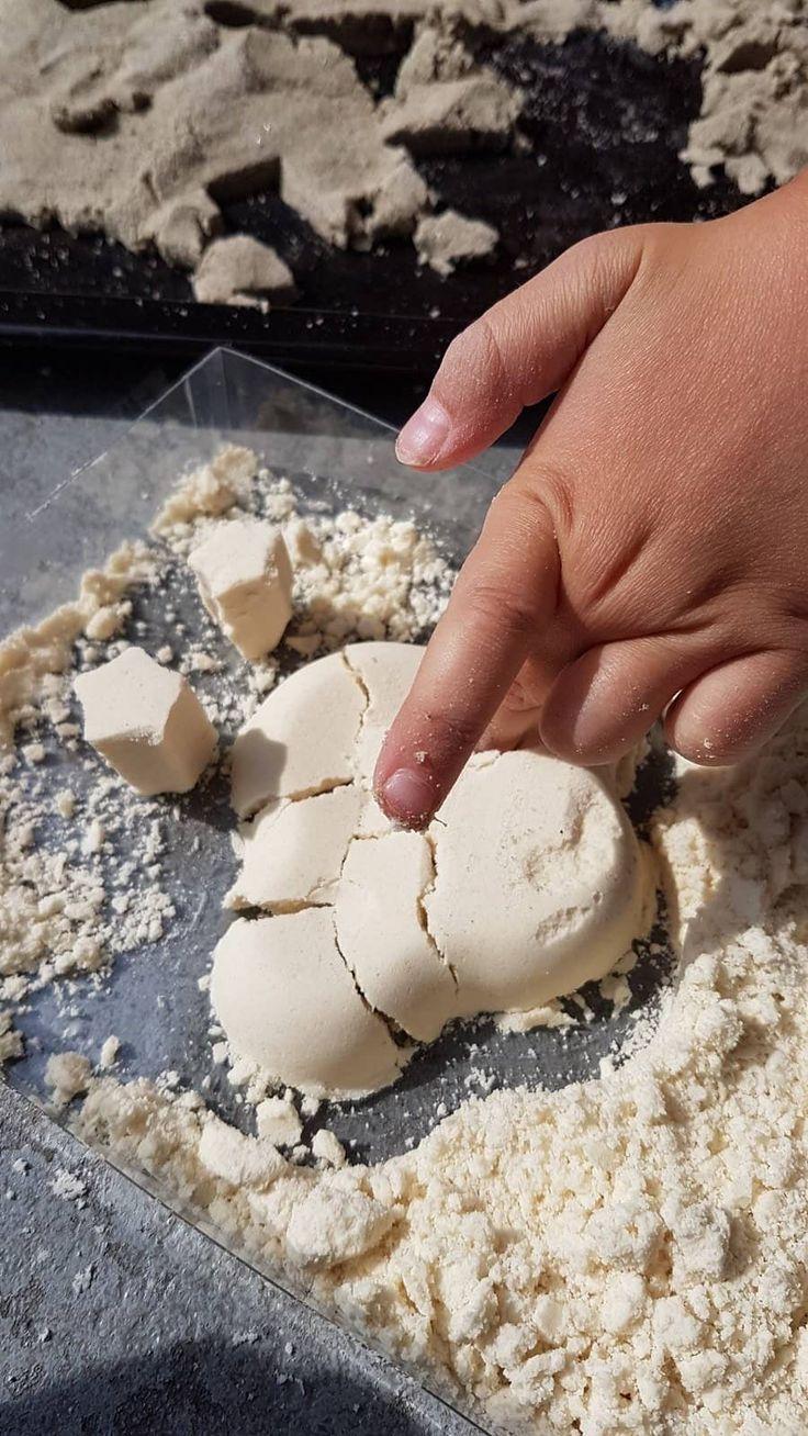 Kinetic Sand Alternative Mondsand Rezept