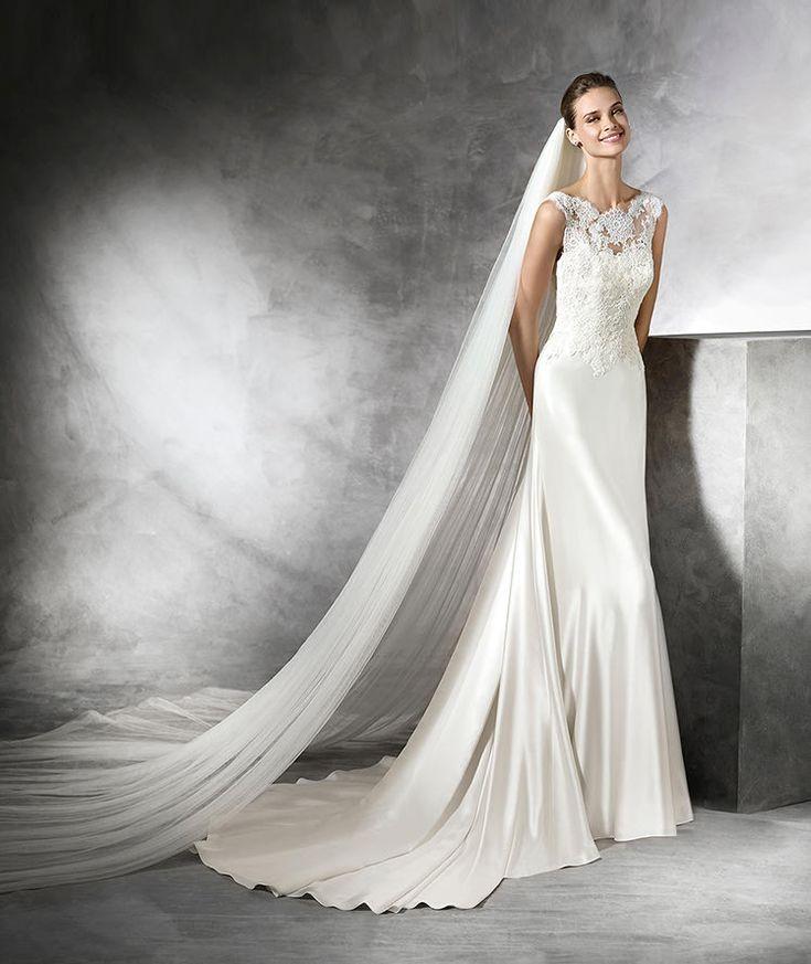 213 best PRONOVIAS 2016 images on Pinterest | Wedding frocks ...