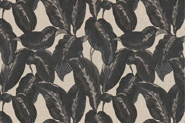 Elephant Ears Fabric by Robert Allen - tropical - Upholstery Fabric - Jan Jessup