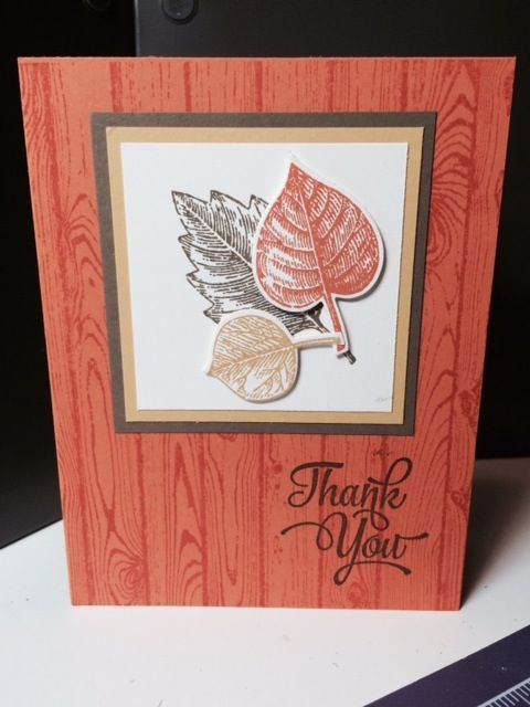 Stampin Up Vintage Leaves By Jadoherty Cards And Paper