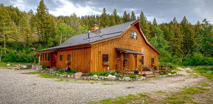 Ponderosa Country Barn Home Project GVA707