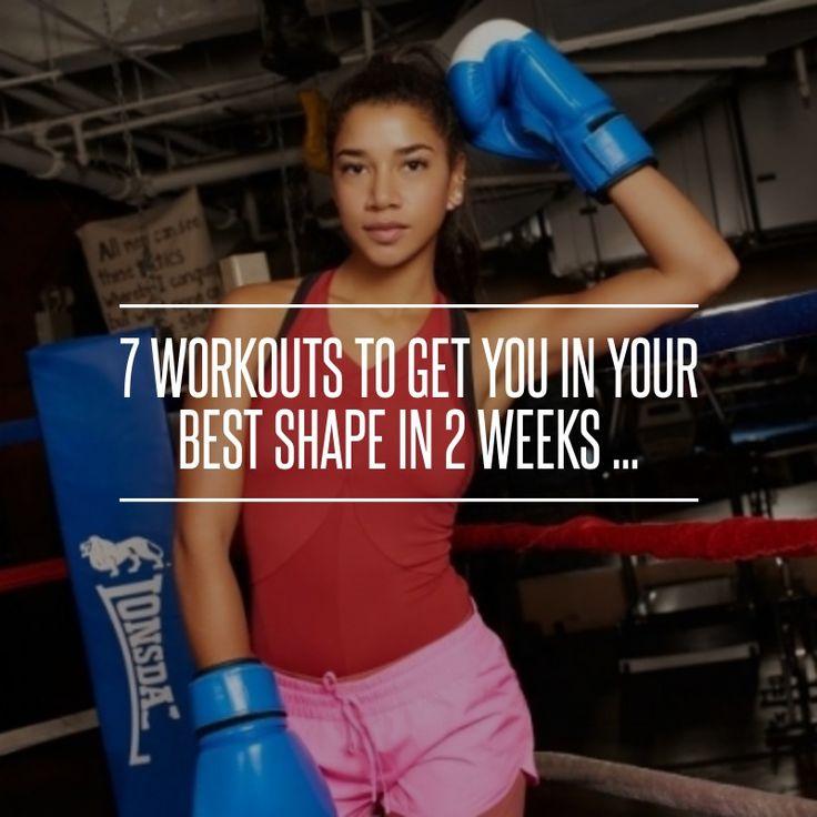7 #séances d'entraînement pour vous aider dans #votre mieux #façonnent en 2 semaines... → #Fitness