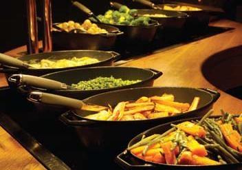 Free House Dining Carvery Veg Mmmmm