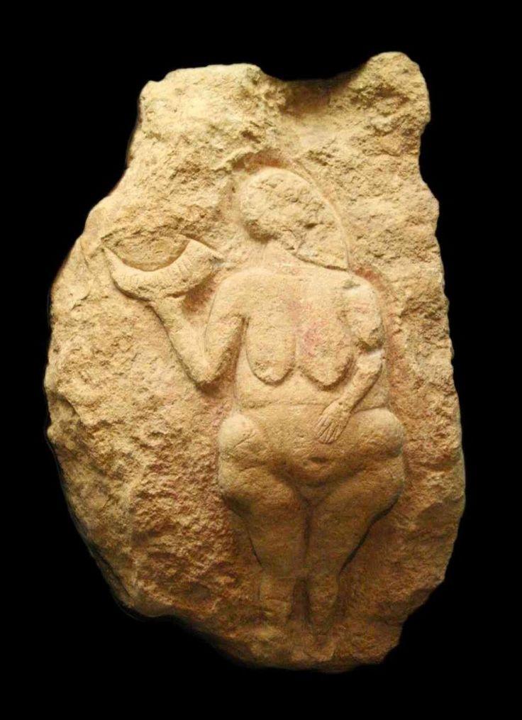 Dama del corno o Venere di Laussel – Francia 20.000 a.C.