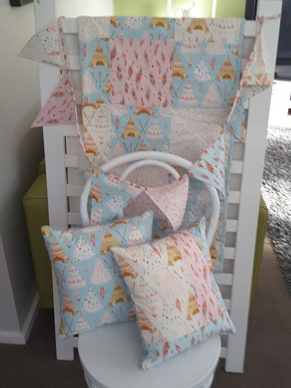 Hey, I found this really awesome Etsy listing at https://www.etsy.com/listing/278790042/baby-cot-quilt-set