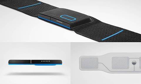 Quell: An FDA-Approved wearable for pain relief via nerve stimulation. Can be worn 24/7 and works with an accompanying app.