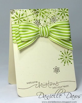 love change the snowflakes to a multi petal flower and instead of green stripes, go for coral. Great wedding invite!